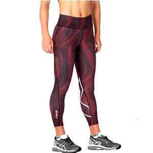 2XU Mid Rise 7/8 Length Compression Tights Size M